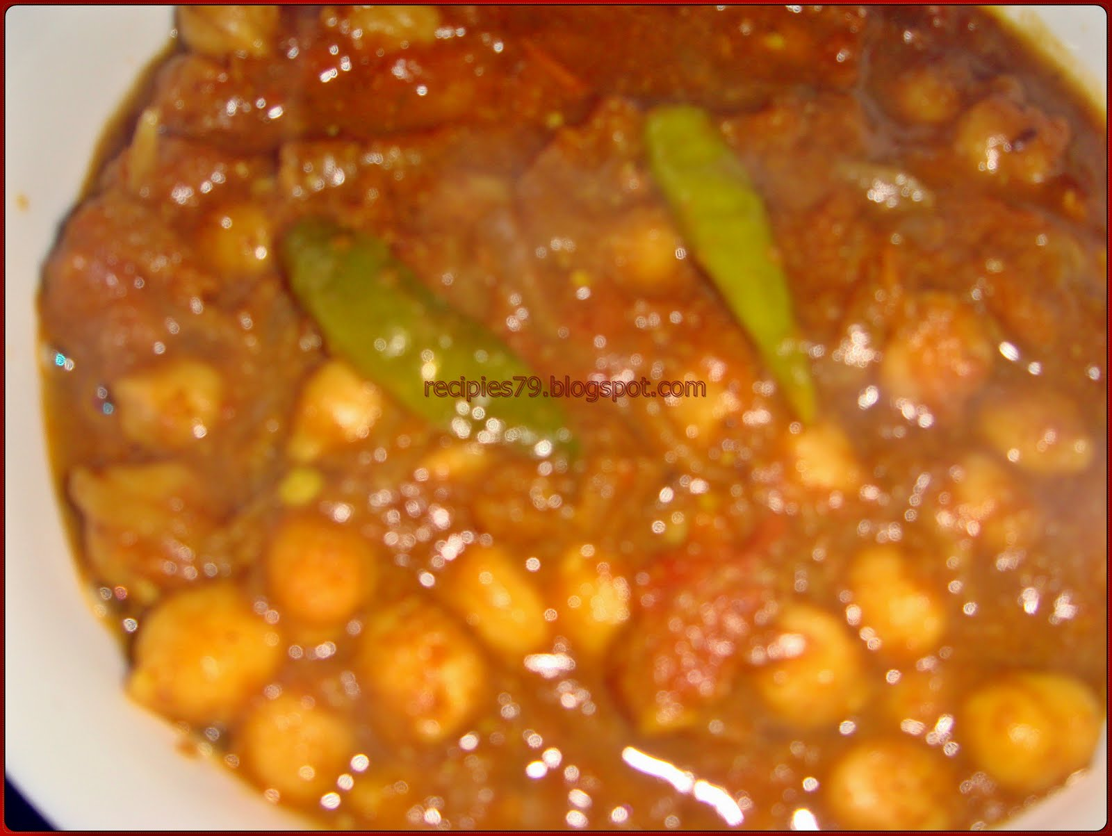 TOMATO CHANA MASALA | recipies
