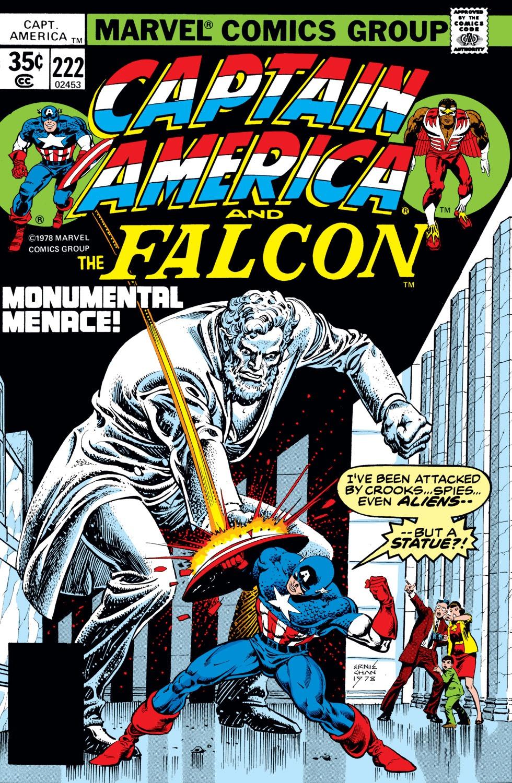 Captain America (1968) Issue #222 #136 - English 1