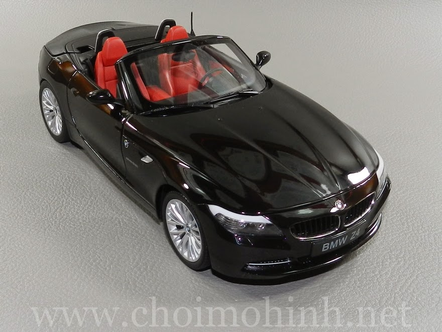 BMW Z4 sDrive35i (E89) 1:18 Kyosho black
