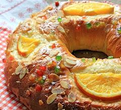 Receta de cocina: roscón de Reyes