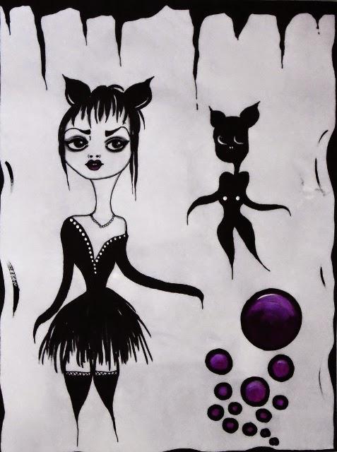 Drawing art by Bebee Pino