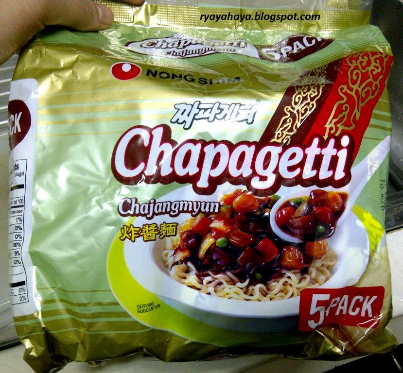 Instant Black Bean Noodles Famous Black Bean Noodle