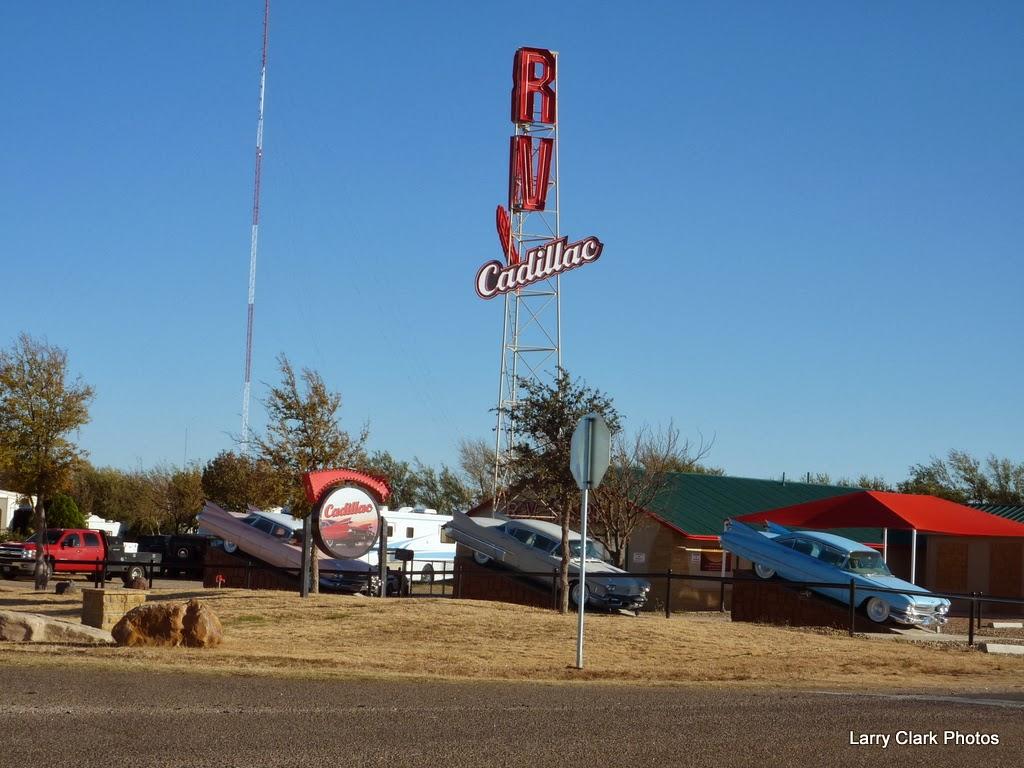 Road Runner Amarillo Geocaches Cadillac Ranch
