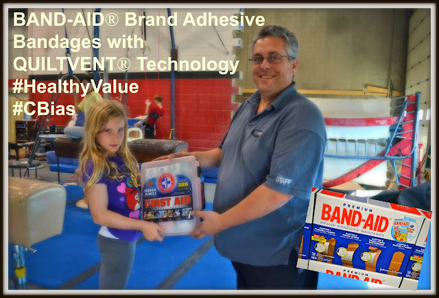 BAND-AID® Brand Adhesive Bandages with QUILTVENT® Technology #HealthyValue #CBias