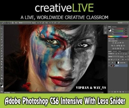 Tutorial Photoshop CS6 - CreativeLive
