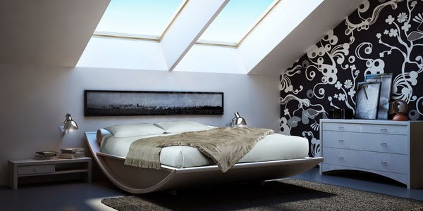 Beauty Attic Bedroom Interior Design