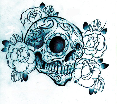 Sugar Skull shirt design