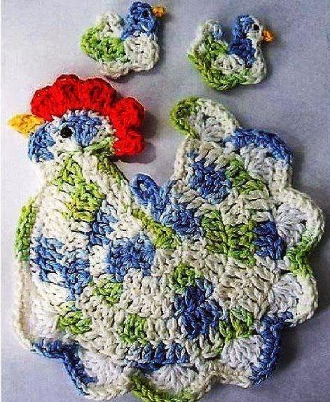 Amigurumi Gallina a Crochet