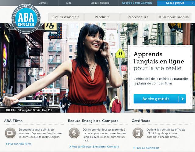 apprendre l 39 anglais avec aba english le blog de sienna lou. Black Bedroom Furniture Sets. Home Design Ideas