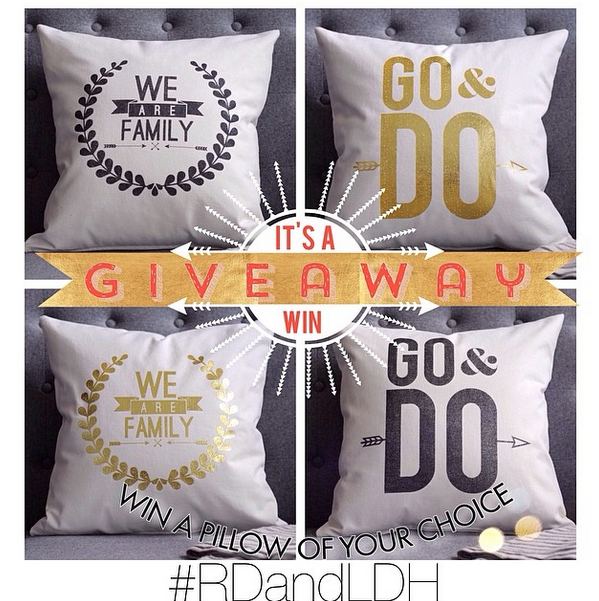 Rhonna Designs pillow giveaway with Latter-Day Home