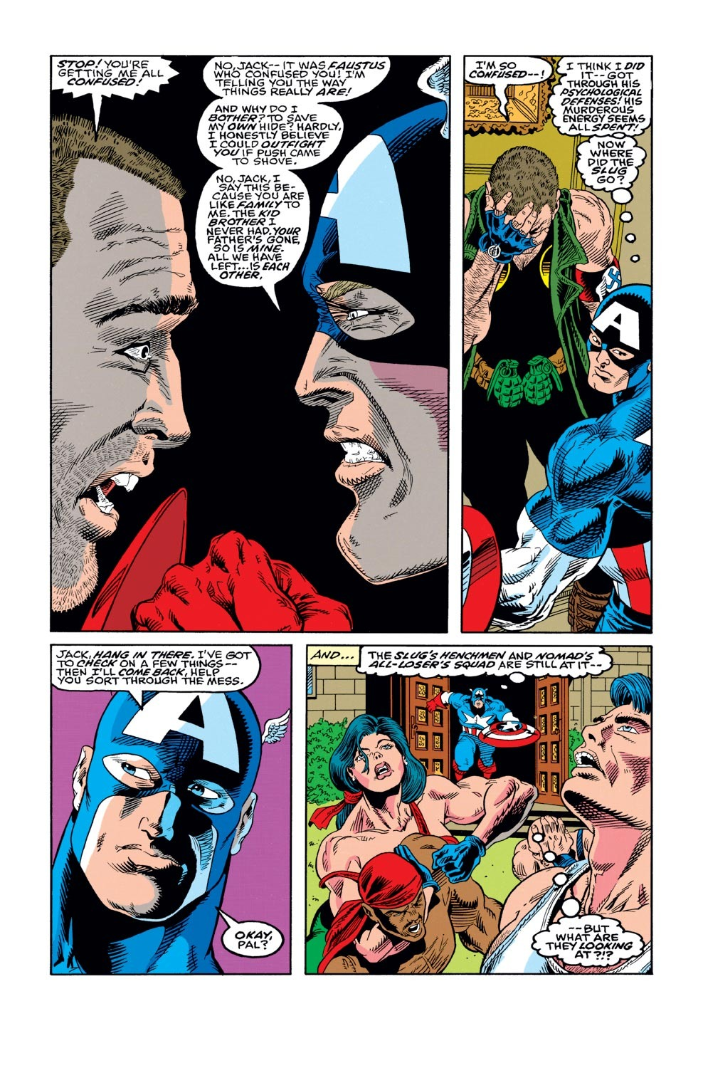Captain America (1968) Issue #421 #371 - English 19