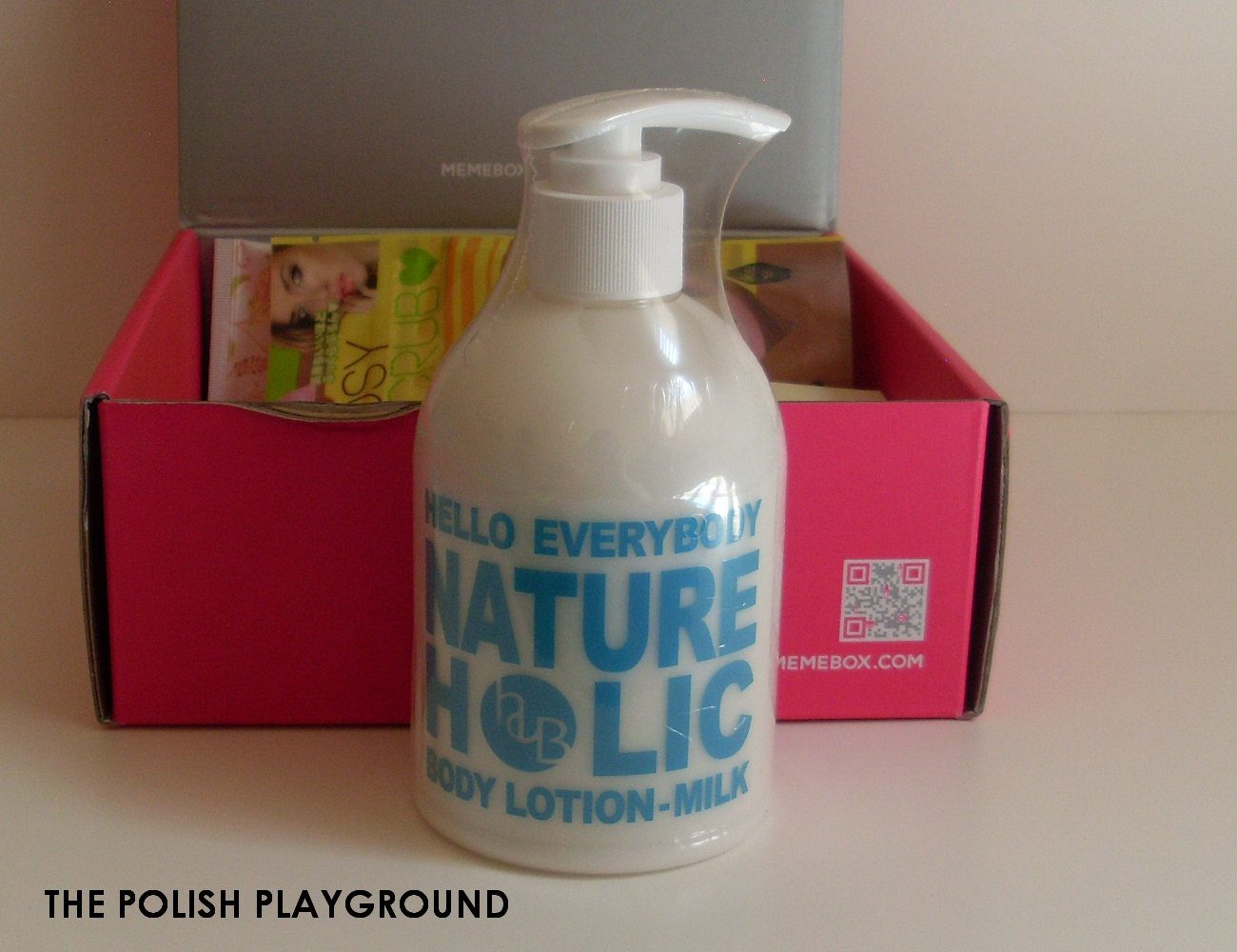 Memebox Special #7 Milk Unboxing - Hello Everybody Nature Holic Body Lotion Milk