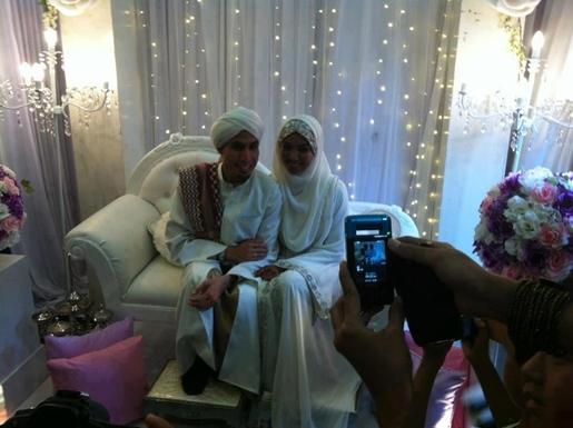 gambar perkahwinan ustaz don