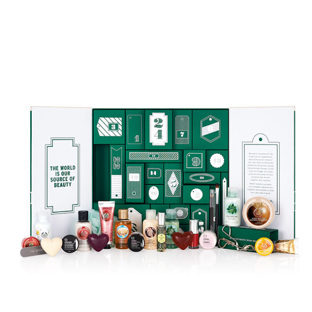 The Body Shop 24 Happy Days Beauty Advent Calendar 2015