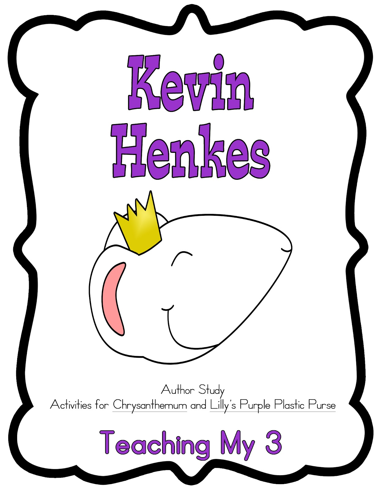 kevin henkes chrysanthemum coloring pages - photo#23
