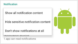 Android Notification Settings