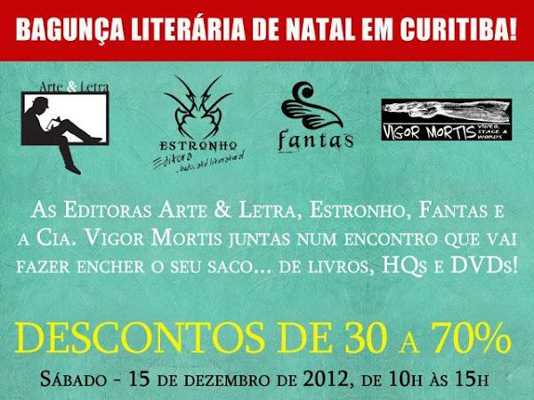 Bagunça Literária de Natal em Curitiba!