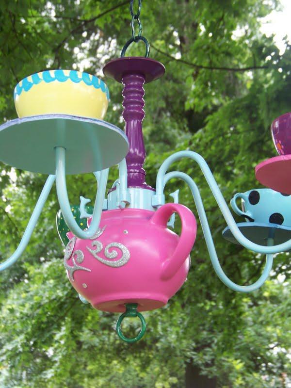 Alice in Wonderland Tea Pot Chandelier | Everyday Parties