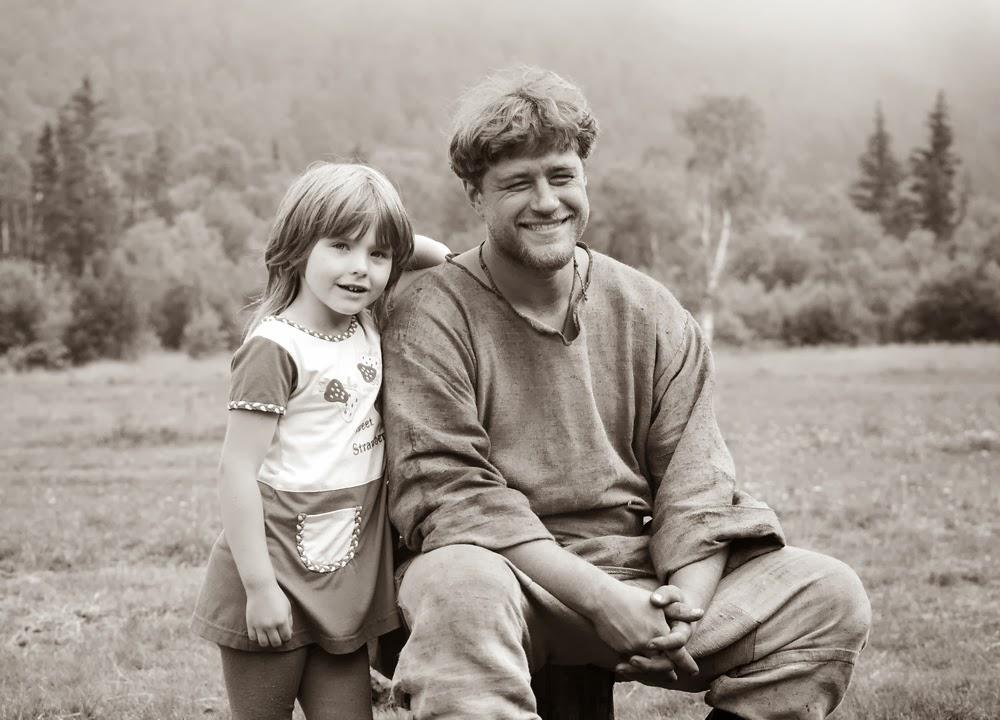 моя дочка Даша и кузнец Ратислав