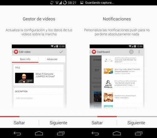 Estudio de Youtube, aplicación para gestionar tu canal