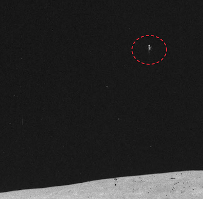 NASA Discovers UFO Near Apollo Lander 2015, UFO Sightings