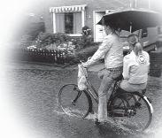 Bron foto: Gemeentelijke aanpak regenwateroverlast: een inventarisatie. pag. 3