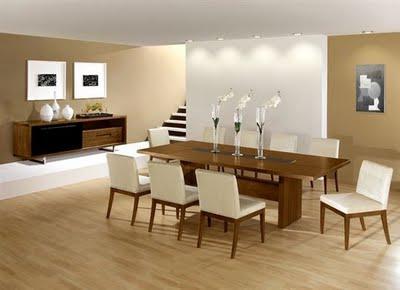 Desain Ruangan Dapur on Desain Ruang Makan Minimalis Natural Ini Mengkombinasikan Desain Ruang