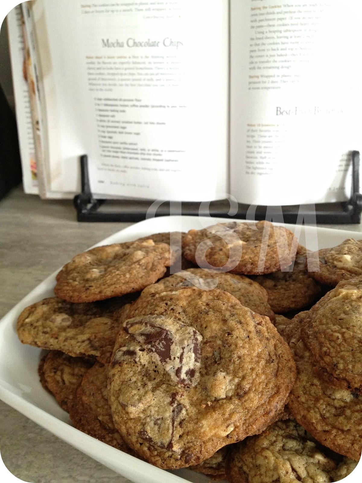 Mocha Chocolate Chip Cookies Baking With Julia
