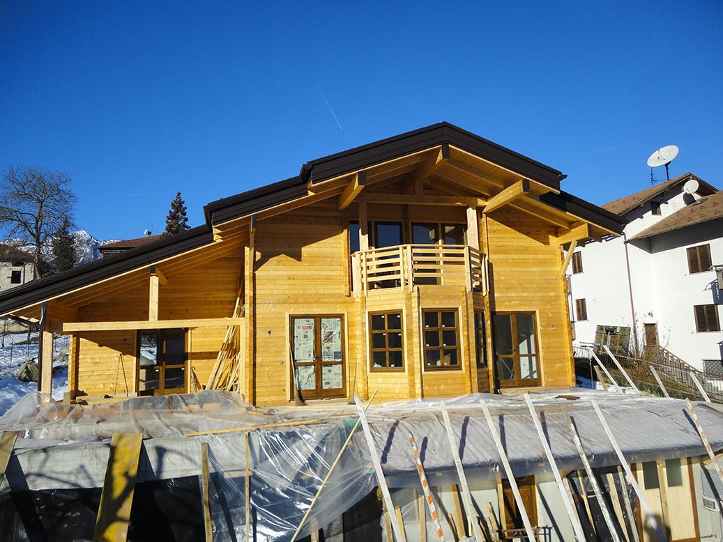 progetti di case in legno casa 162 mq portico 32
