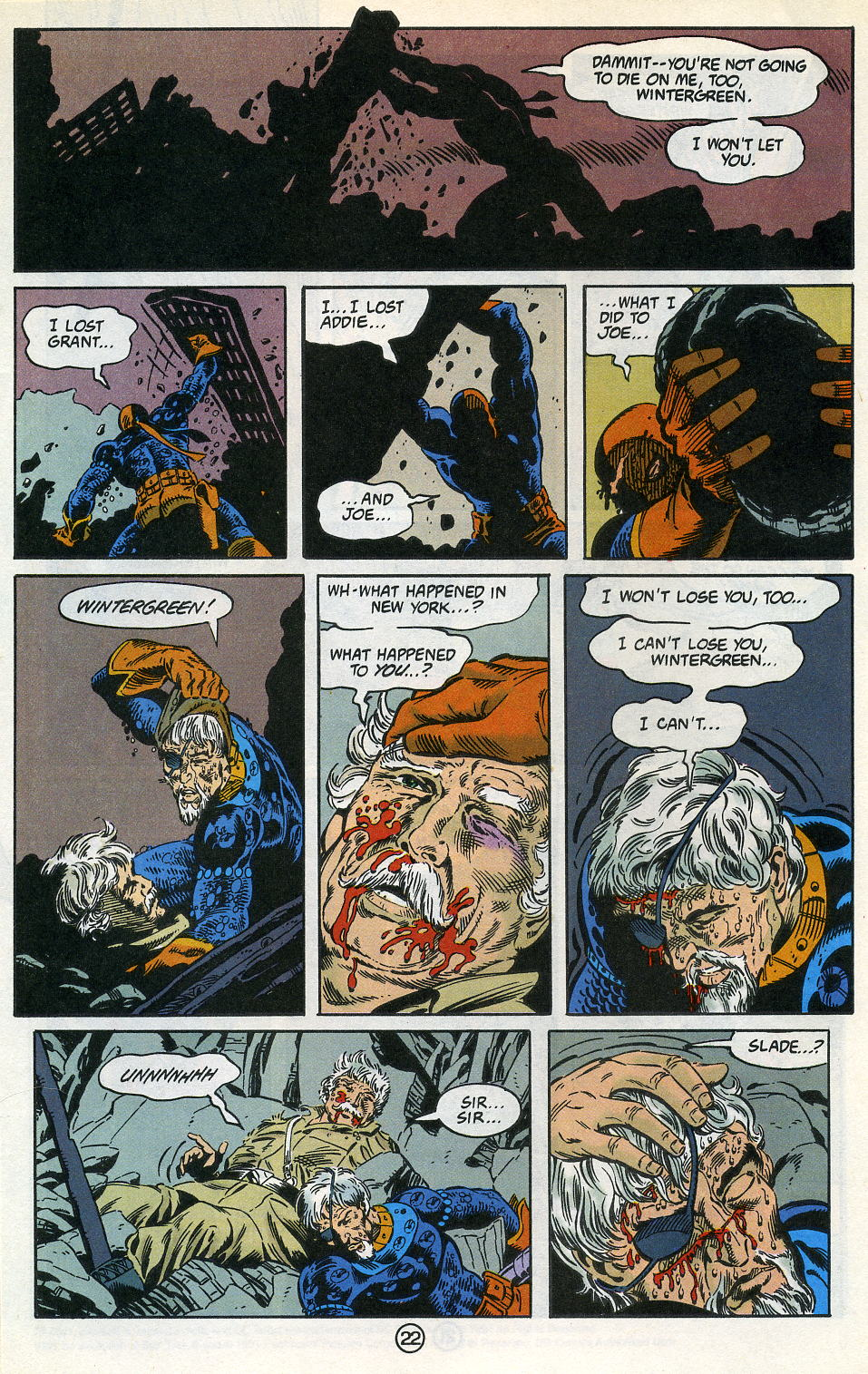 Deathstroke (1991) Issue #3 #8 - English 28