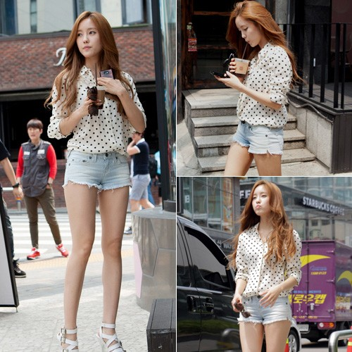 T-ARA Hyomin's Summer Fashion Inspiration