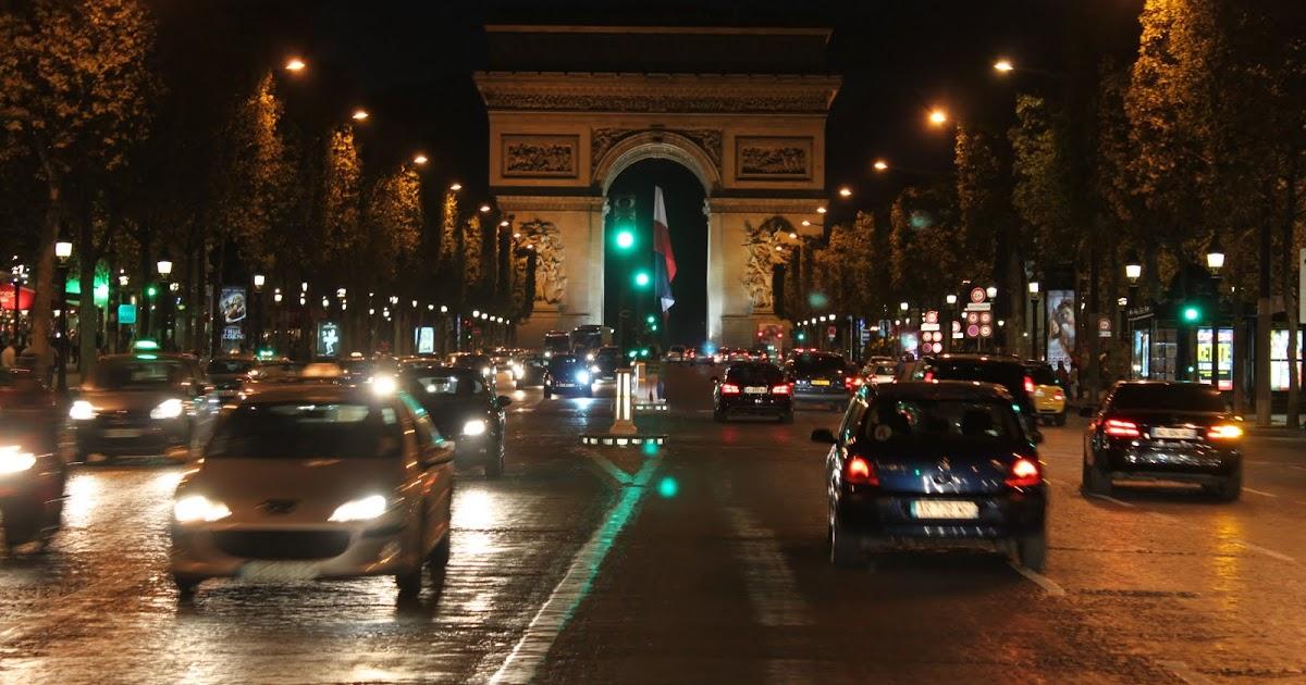 Paris arc de triomphe tour lense moments - H m avenue des champs elysees ...