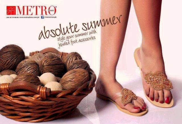 Metro Shoes Latest Eid Mid Summer 2013-2014 By Fashion She9