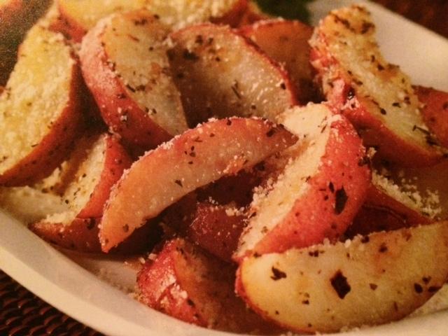 Easy crockpot recipes: Parmesan Potato Wedges Crockpot Recipe
