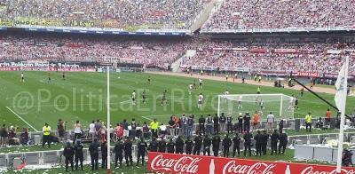 Policia Federal Argentina Superclasico River Plate Boca Juniors 2012