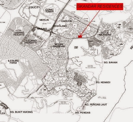 Iskandar Residences Location