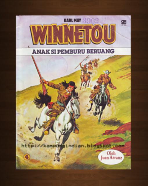 Album Cerita Ternama Winnetou - Anak Si Pemburu Beruang