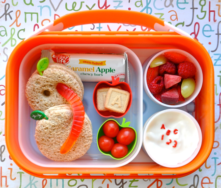 Sprout Starts Kindergarten I Packed Her An Apple Themed Lunch