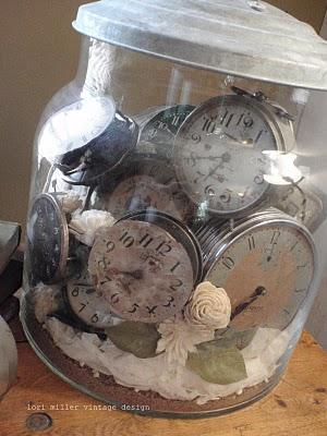 relojes de decoración
