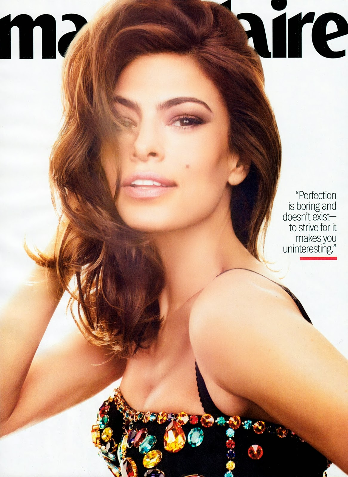 Eva Mendes HQ Pictures Marie Claire US Magazine Photoshoot March 2012 By Txema Yeste
