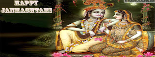 Facebook cover of radha and krishna