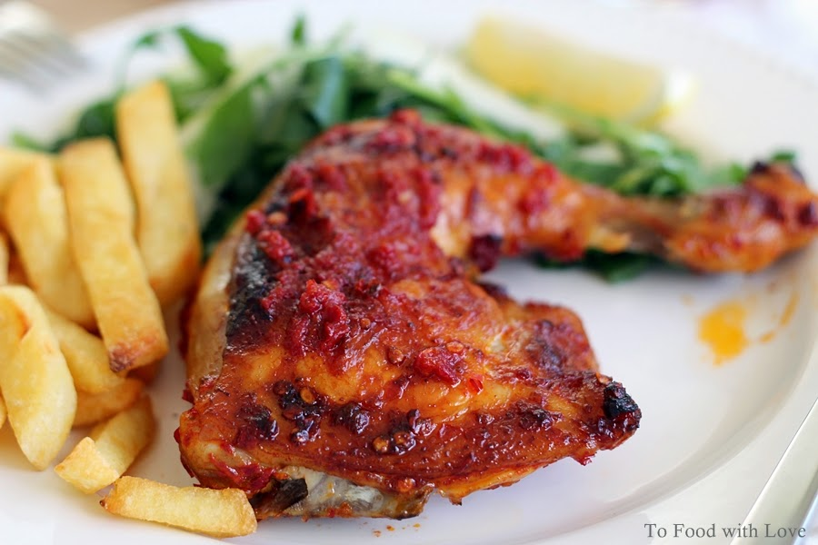 To Food with Love: Portuguese Chicken with Piri-piri Sauce