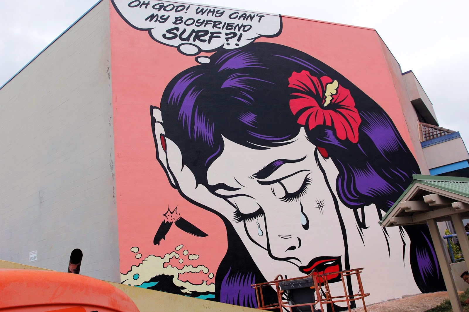 pow wow hawaii 2015 dface unveils a new mural in honolulu