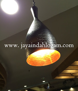 kerajinan lampu gantung minimalis tembaga dan kuningan