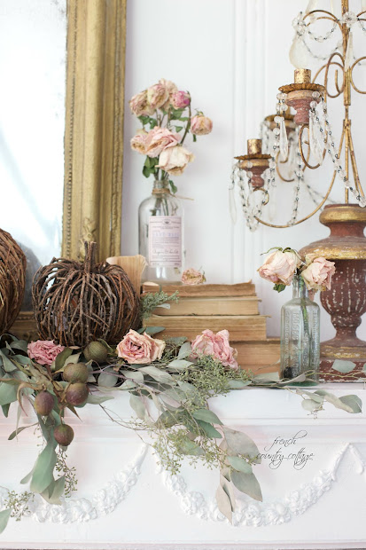 Fall French Country Cottage Decor