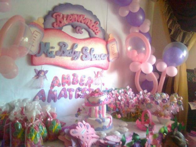 Arreglos de baby shower imagui for Decoracion para baby shower en casa