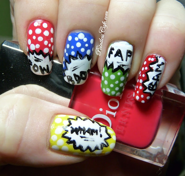 pop-art-nail-art-cartoon
