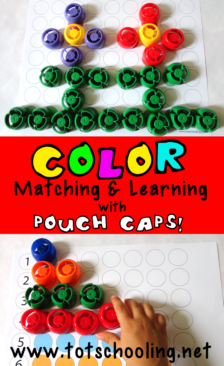 Printable color matching games for preschoolers - Color Matching Printables For Toddlers