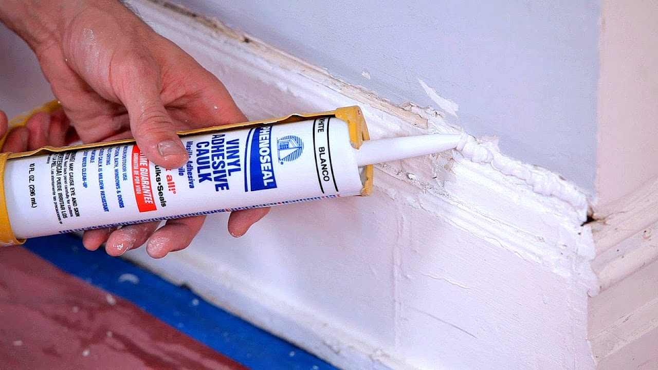 Can You Paint Caulk