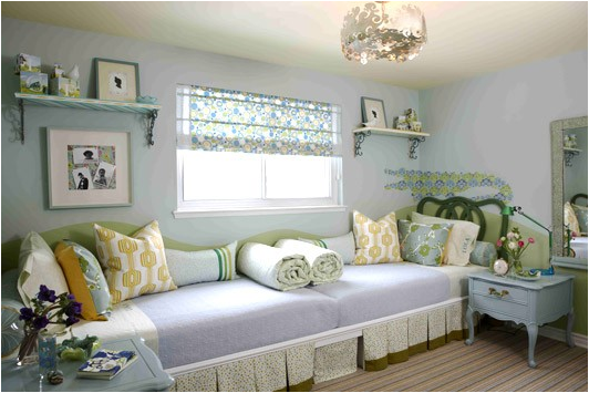 Decorating Girls Room With Two Twin Beds Nice Design